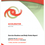 Exercise Routines and Body Points Report
